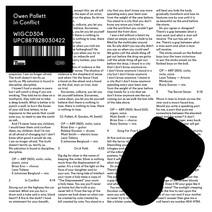 Cover: Owen Pallett - In Conflict